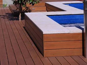BioWood architectural reconstituted composite wood looks and feels like the real thing