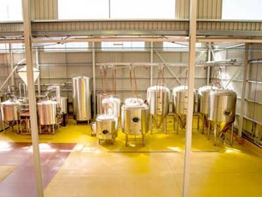 Flowfresh was used to create a hygienic flooring solution for Bright Brewery
