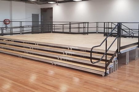 Carlingford Public School Select Staging Concepts Quattro Modular Stage