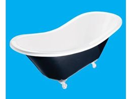 Classically Designed Double Hi Back Claw Foot Bathtubs