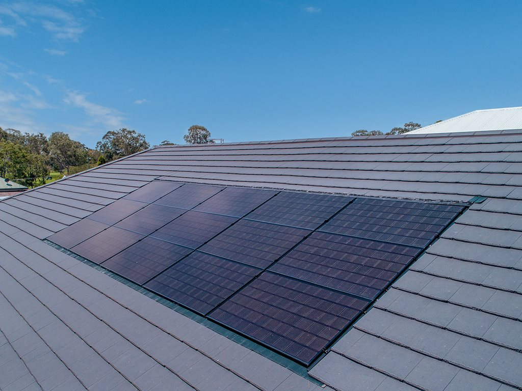 Monier InlineSOLAR™: The power of a great looking roof