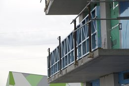 Balustrades from Dynamic Steel Framing