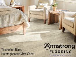 Armstrong Flooring's Timberline & Translations vinyl sheet flooring