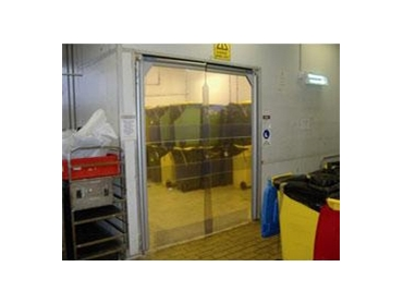 PVC strip curtains and doors for Flexshield