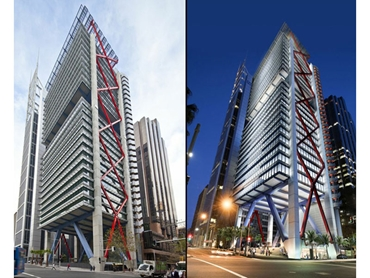 "Evershield - 8 Chifley Square, Sydney: ""Edge cover"" will ensure longevity of the shades"