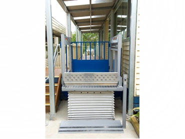 BCA Compliant Wheelchair Platform Lift For Rises Up to and including 1000mm from P R King Sons l jpg