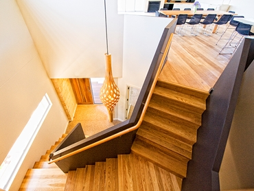 Durable and Contemporary Balustrades from Slattery Acquroff Stairs l jpg