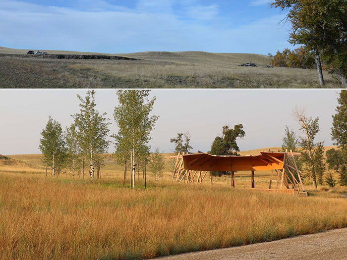 Outdoor rural image of Tippet Rise Art Center