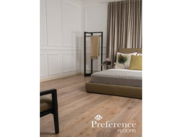Enjoy the warmth and comfort to your room. Prestige Oak Flooring in Cannes.