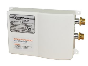 Chronomite Tankless Electric Hot Water Heaters for Commercial Use from RBA l jpg