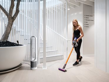 Interior Reception Area of The Well Gym Bondi Beach Depicting Staff Using Dyson Vacuum Stick