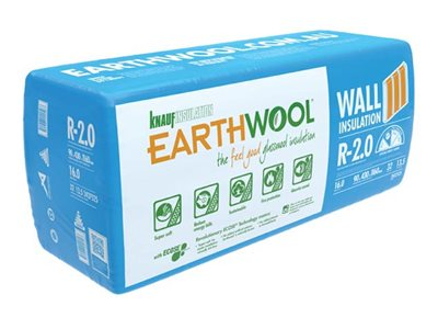 Earthwool thermal and acoustic wall batt pack