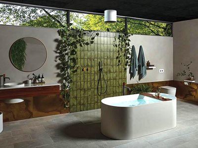 contemporary luxury bathroom