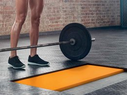 G-Fit gym floor isolation & impact absorbing material