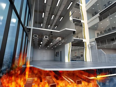 Promat fire protection system