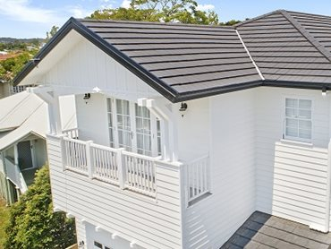 The Cape Cod style home in Brisbane featuring Monier's Madison tiles