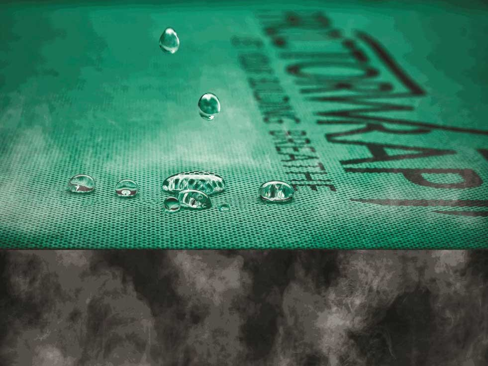 Control condensation with Enviroseal™ ProctorWrap™ from CSR Bradford