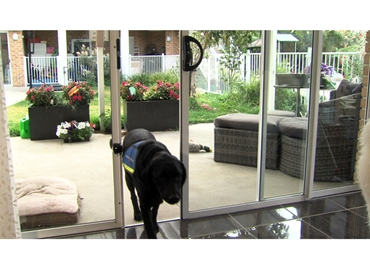 Automatic Patio Sliding Door System For New & Old Homes from Autoslide