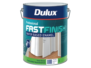 Dulux Professionl Fast Finish Water Based Enamel Semi-Gloss Finish