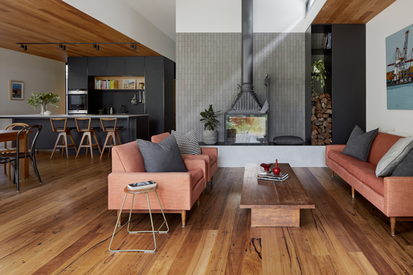 heritage extension interior living