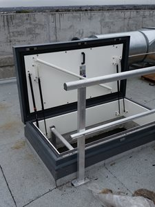 Gorter Hatches Fire Rated Roof Hatch
