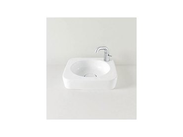 Above counter bathroom basin with no overflow