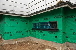 Wrap up earlier, reverse Build™ with Thermoseal™ wall wrap