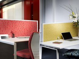 EchoPanel® acoustic and pin-able panels for partitioning