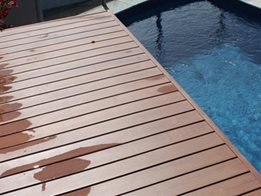 Sustainable InnoDeck composite wood decking system from Innowood Australia
