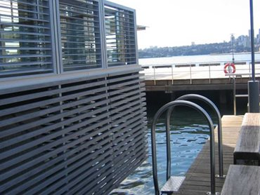 Sydney Harbour's Wharf 8 featuring Innowood's timber alternative