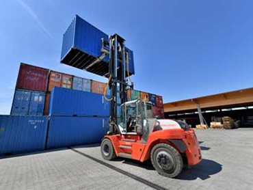 Heavy-duty forklift, SMV 10-1200 C from Konecranes Lifttrucks