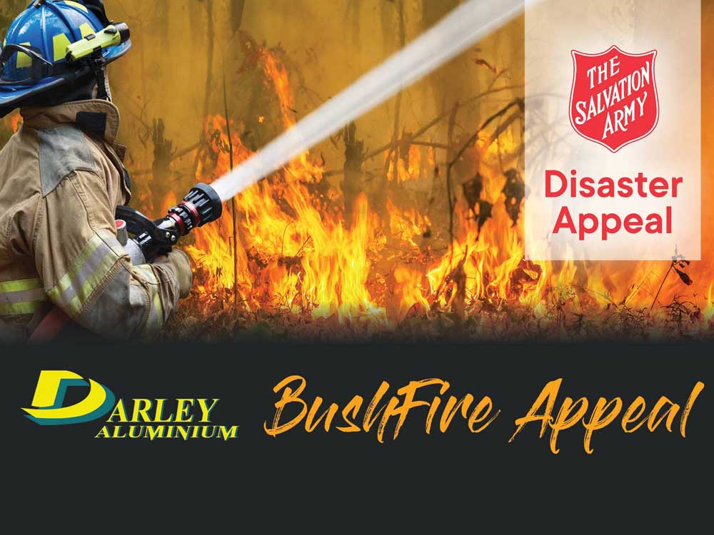 Darley is raising funds for people affected by the bushfire crisis