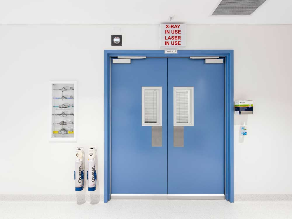 Altro Whiterock Doorsets at St Andrews Hospital