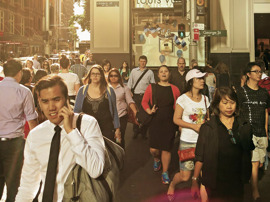 A large majority of Asian Australians who make up an increasing proportion of the population, especially in big cities like Sydney, have experienced racism. ketrktt/Shutterstock