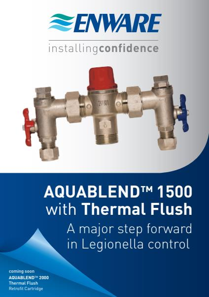 Aquablend 1500 thermal flush brochure