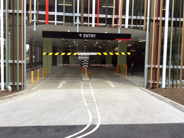 Magnetic's MHTM Parking Pro boom gates