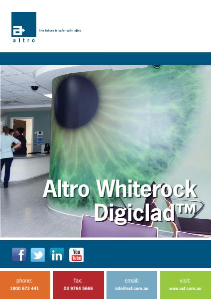 Altro Whiterock Digiclad brochure