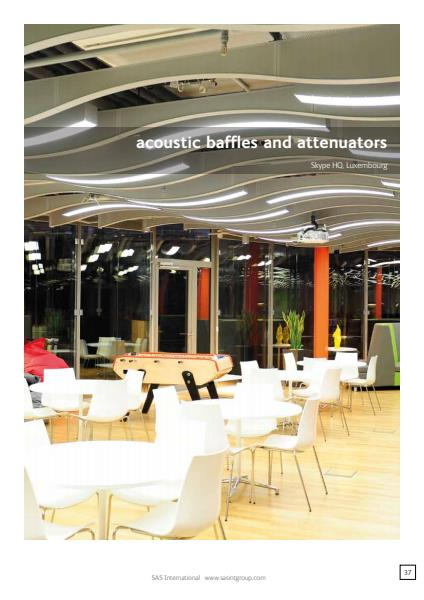 Acoustic Baffles Brochure