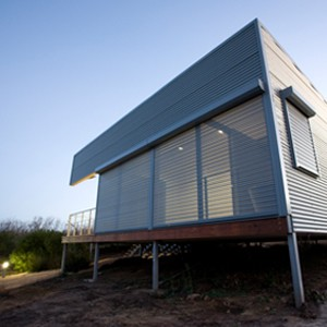 Bushfires not a problem for this house designed to protect itself against flames