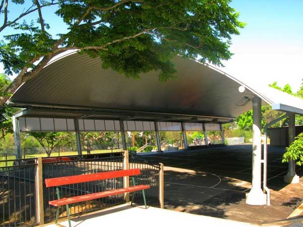 Spantech's shade structure at St Pius X School