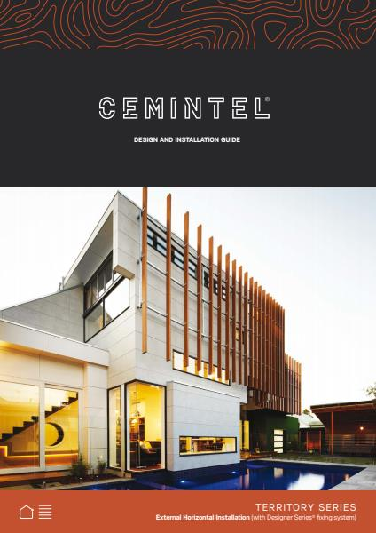 Cemintel Territory horizontal installation guide