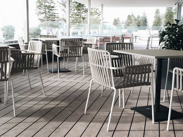 Futurewood's composite decking at Perth City Beach surf club