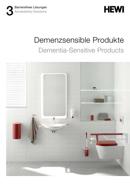 Galvin Specialised and HEWI dementia sensitive products brochure