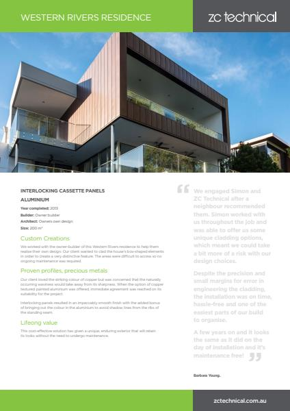Western Rivers residential case study