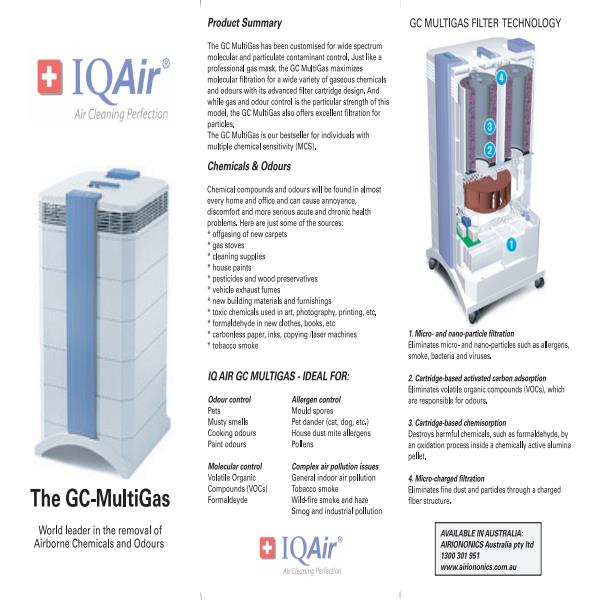 GC MultiGas Product Brochure