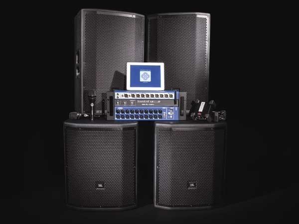 HARMAN's new integrated PA system
