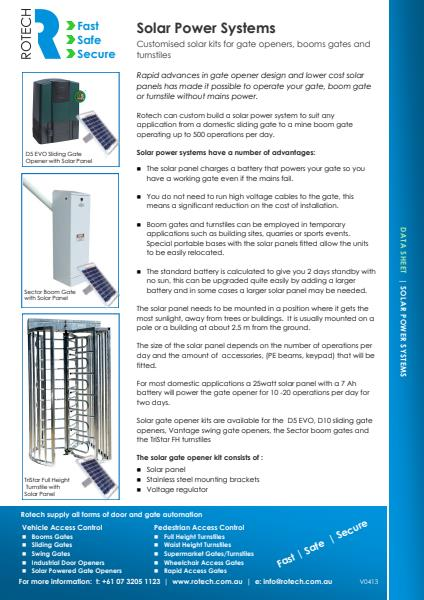 DS-Solar Power Systems
