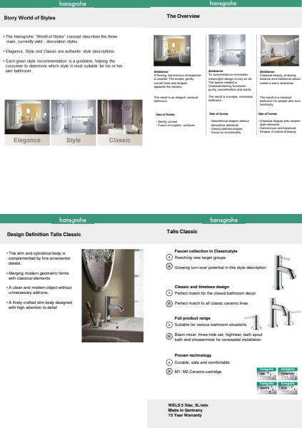 Hansgrohe World of Styles