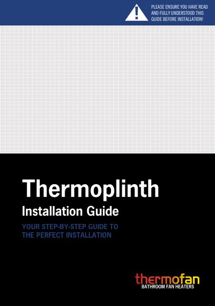 Thermofan Thermoplinth installation guide