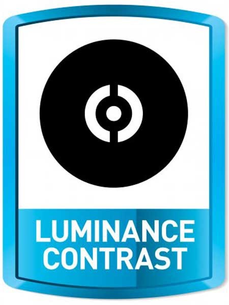 A key objective of luminance contrast is to increase the usability of any facility for those with vision impairment